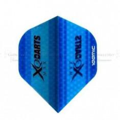 Fluturas de darts XQMAX, albastru transparent - Fluturas Darts