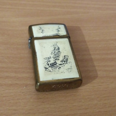 VINTAGE BRICHETA ZIPPO BRADFORD MADE IN USA - Bricheta de colectie