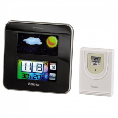 Statie meteo Hama Color EWS-1200 Black