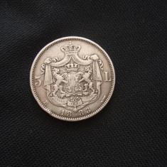 JN. 5 lei 1883, argint, Europa