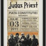 Poster Judas Priest Vintage Look Inramat A4