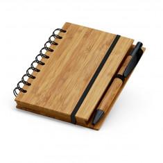 Notepad mic din bambus CDT-93486 - Agenda scolara