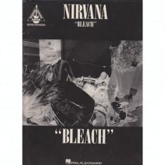 Nirvana - Bleach - Guitar Recorded Version - Partituri - Carte Arta muzicala