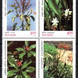 INDIA 1997, Flora, serie neuzata, MNH, Nestampilat