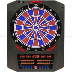 Bord darts electronic, soft, TOPAZ 901 cu segment albastru/rosu - Dartboard