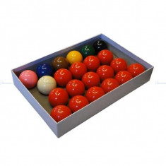 Set bile Snooker 22 x 52, 4mm
