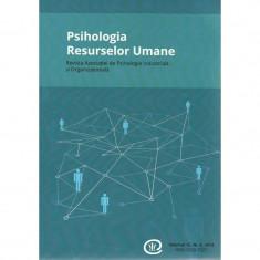 Psihologia resurselor umane, Vol. 12, nr. 2, 2014