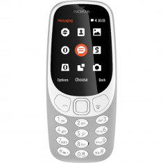 Telefon mobil Nokia 3310 (2017) Dual Sim Grey - Telefon Nokia