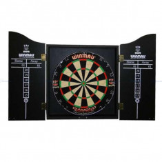 Set profesional darts, tabla, cabinet, 2 set sageti - Dartboard