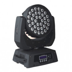 MOVING HEAD WASH 36x10W RGBW 4in1 ZOOM cu flight case (2 buc.) - Moving heads club