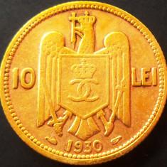 Moneda 10 Lei - ROMANIA, anul 1930 *cod 342 (Monetaria Paris) - Moneda Romania
