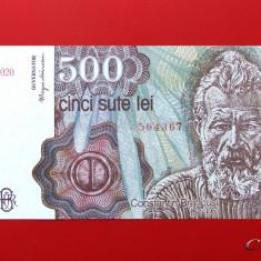ROMANIA - 500 Lei aprilie 1991 - UNC - Bancnota romaneasca