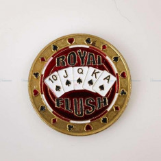 "Jeton garda ""Royal Flush"""