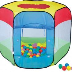 Cort de joaca cu 100 bile Bendix - Casuta/Cort copii, Multicolor