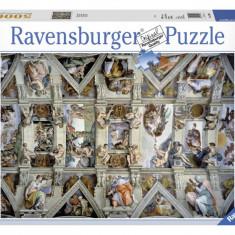 Puzzle Ravensburger CAPELA SIXTINA, 5000 PIESE