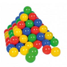 Set 300 bile colorate - Casuta/Cort copii, Multicolor, Plastic