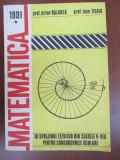 Matematica in sprijinul elevilor din clasele V-VIII pentru concursurile scolare