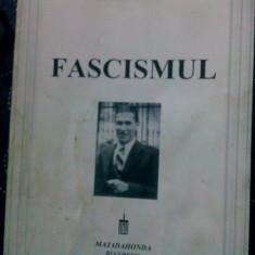 FASCISMUL VASILE MARIN 1997 TEZA DOCTORAT ÎN ȘTIINȚE POLITICE MIȘCAREA LEGIONARĂ - Carte Istorie