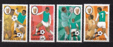 Sierra Leone  1982  sport  fotbal  MI 674-677  MNH  w45, Nestampilat