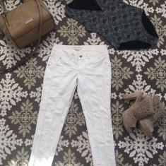 Pantaloni Roberta Biagi - Pantaloni dama Made in Italia, Marime: 40, Culoare: Alb