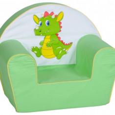 Fotoliu din burete Dragon - Set mobila copii