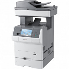 Imprimanta Multifunctionala LaserJet color, A4, Lexmark X738de, 33 pagini/minut, 85.000 pagini lunar, 1200x1200 DPI, Duplex, USB, Network, Fax, DADF