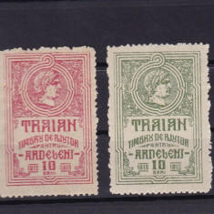 ROMANIA 1915, TIMBRE DE AJUTOR PENTRU ARDELENI MNH - Timbre Romania, Nestampilat