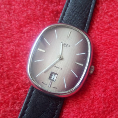 Superb ceas TIMEX 100-barbatesc -mecanic! - Ceas barbatesc Timex, Mecanic-Manual