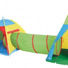Ansamblu corturi de joaca Zenovia - Casuta/Cort copii, Multicolor