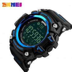 Ceas SMART WATCH SKMEI SUBACVATIC 4 Culori Calorii Camera Bluetooth Somn Alarma, Otel inoxidabil, Android Wear, Apple Watch Series 2