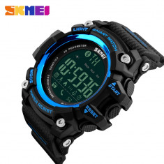 Ceas SMART WATCH SKMEI SUBACVATIC 4 Culori Calorii Camera Bluetooth Somn Alarma, Otel inoxidabil, Android Wear, Apple Watch Series 2