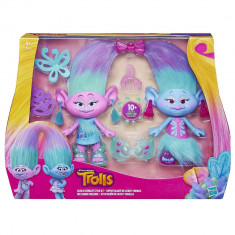 Set figurine Trolls Satin si Chenille - Figurina Animale Hasbro