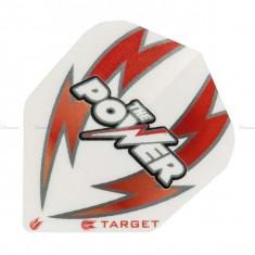 Fluturas darts TARGET POWER ARC BOLT alb/rosu