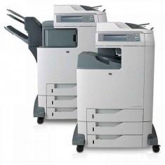 Imprimanta Multifunctionala Laser Color A4 HP CM 4730 mfp, 30 pagini/minut negru, 30 pagini/minut color, 175.000 pagini/luna, 600/600 DPI, 1 X USB,