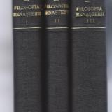Filosofia Renasterii P. P. Negulescu 3 vol. 1945 ed. Cugetarea editia a II-a Fr - Filosofie