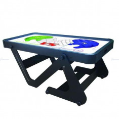 Masa air-hockey pliabila 6'