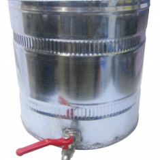 Bazin apa zincat cu robinet canea 10L