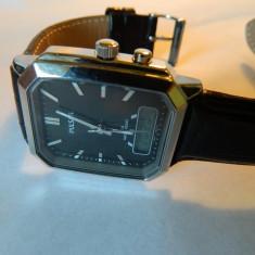 Ceas barbatesc deosebit PULSAR (by Seiko) alarm-chronograph, Casual, Quartz, Inox, Cronograf