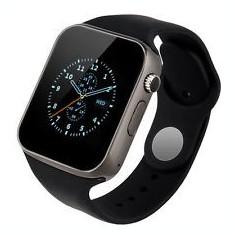 Smartwatch Apple A1 Edition - 2017, microSIM, folie ecran cadou (nou, factura), Aluminiu, Apple Watch