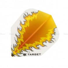 Fluturas darts TARGET VISION alb/ portocaliu FIRE