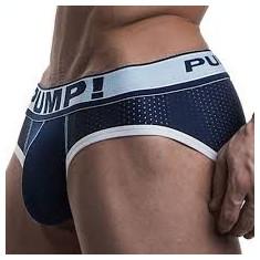 Lenjerie intima barbati / PUMP! Blue Steel Brief - Chiloti barbati, Marime: M, Culoare: Din imagine