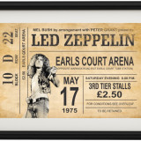 Poster Led Zeppelin Vintage Look A4