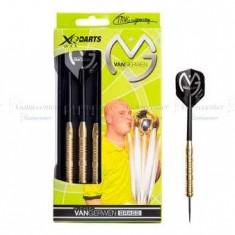 Set darts steel, MVG brass, 23g, Michael van Gerwen - Sageti darts