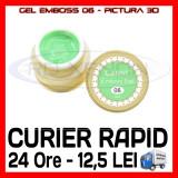 GEL EMBOSS CANNI 06 - PICTURA 3D PT LAMPA UV, MANICHIURA GEL, GELURI COLOR - Gel unghii Sina