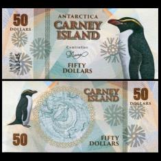 Carney Island 2016 - 50 dollars UNC