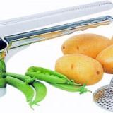 Presa cartofi/legume cu 3 discuri perforate