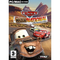 Cars Mater-National Pc - Jocuri PC Thq, Curse auto moto, 3+