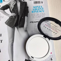 Sephora Beauty Amplifier pudra transparenta pentru fixarea machiajului, Compacta