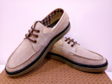 Mocasini Original Penguin Hunter USA piele naturala. Doua nuante disponibile., 41, 42, 43, 44, 45, Albastru, Taupe, Skechers