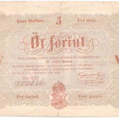 Ungaria 1848 - 5 forint cc